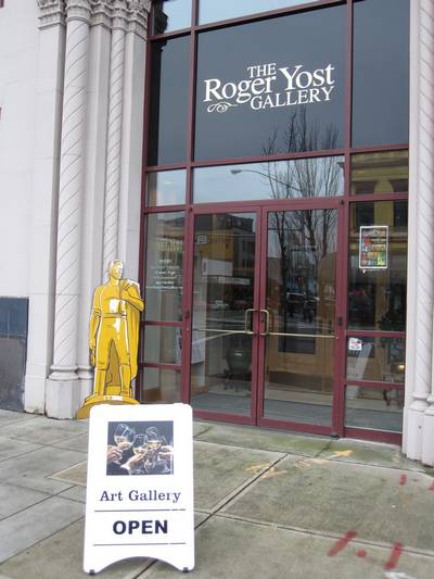 The Roger Yost Gallery in Salem Oregon